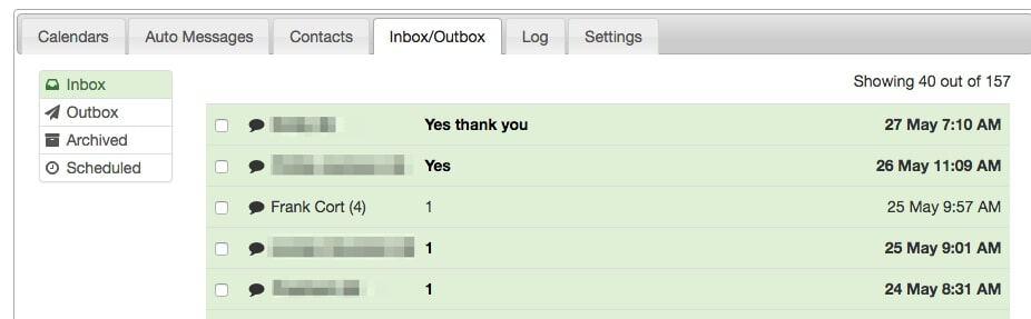 apptoto inbox outbox