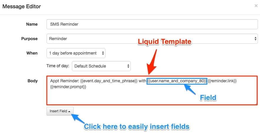 Apptoto liquid templates