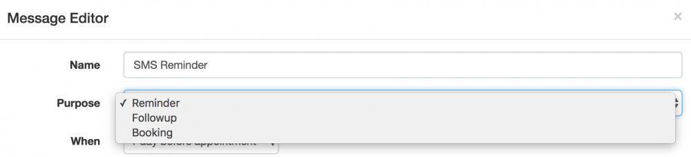 apptoto message editor purpose